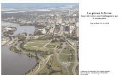 Les plaines LeBreton - Lignes directrices pour l'aménagement par le secteur privé