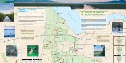 Carte des sentiers d'hiver et d'été de la Ceinture de verdure de la capitale nationale