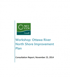 Ottawa River North Shore Improvement Plan - Consultation Report 2014