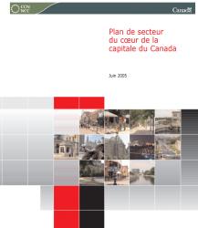 Plan de secteur du coeur de la capitale du Canada