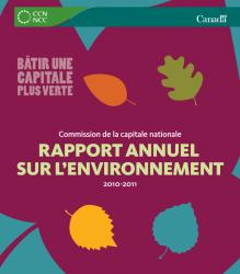 Rapport annuel sur l'environnement 2010-2011