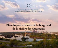 Plan du parc riverain de la berge sud de la rivière des Outaouais