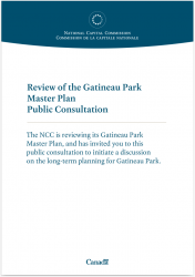 Review of the Gatineau Park Master Plan - Public Consultation Panels