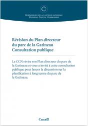 Révision du Plan directeur du parc de la Gatineau - Panneaux - Consultation publique