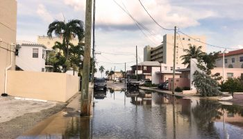 Hollywood and Dania Beach flooding post Hurricane Matthew (Fadi Masoud)