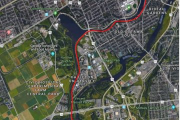 Closure on Colonel By Drive – May 19, 2018