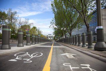 L'avenue Mackenzie, un nouveau rendez-vous pour les cyclistes d'Ottawa