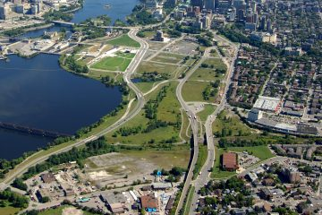 A milestone announcement for the redevelopment of LeBreton Flats in Canada's Capital