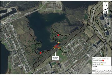 Section closure of Mud Lake recreational trail, February 5 to 28