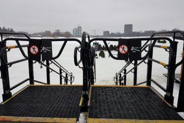 Avis de sécurité : Fermeture temporaire de la patinoire du canal Rideau