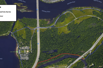 Section of Leamy Lake pathway closed until fall 2018