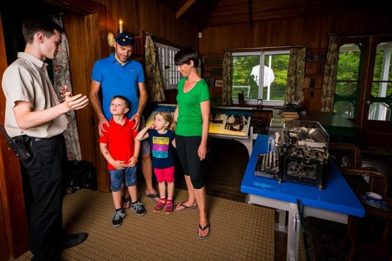 Guided Activities at the Mackenzie King Estate