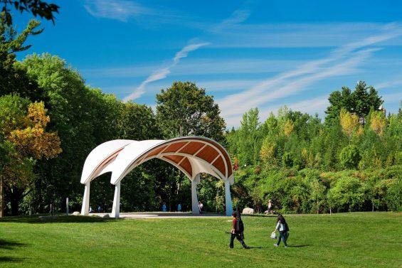 Le parc Vincent Massey