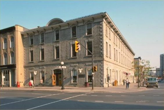 The former Geological Survey of Canada building