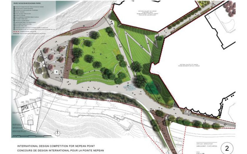 Site plan - Nepean Point