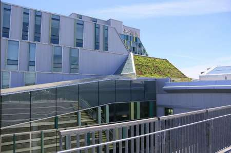 Algonquin College's Centre for Construction Excellence Building, opened in September 2011. Leed Platinum accredited.