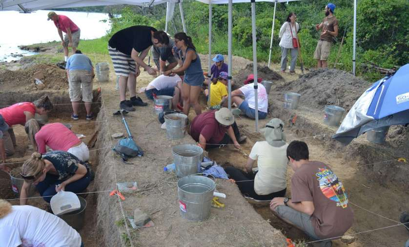 Archaeological investigations on NCC lands