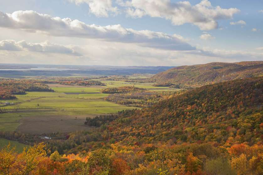 L'escarpement d'Eardley