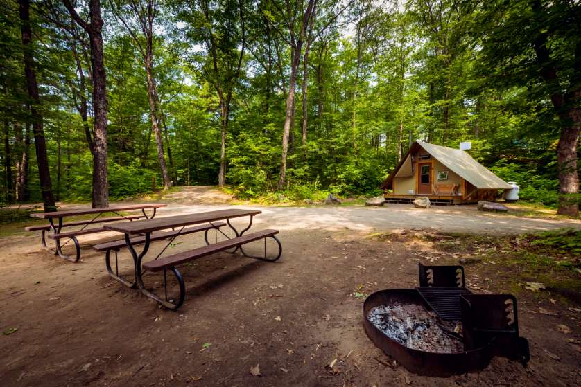 Lac Philippe Campground