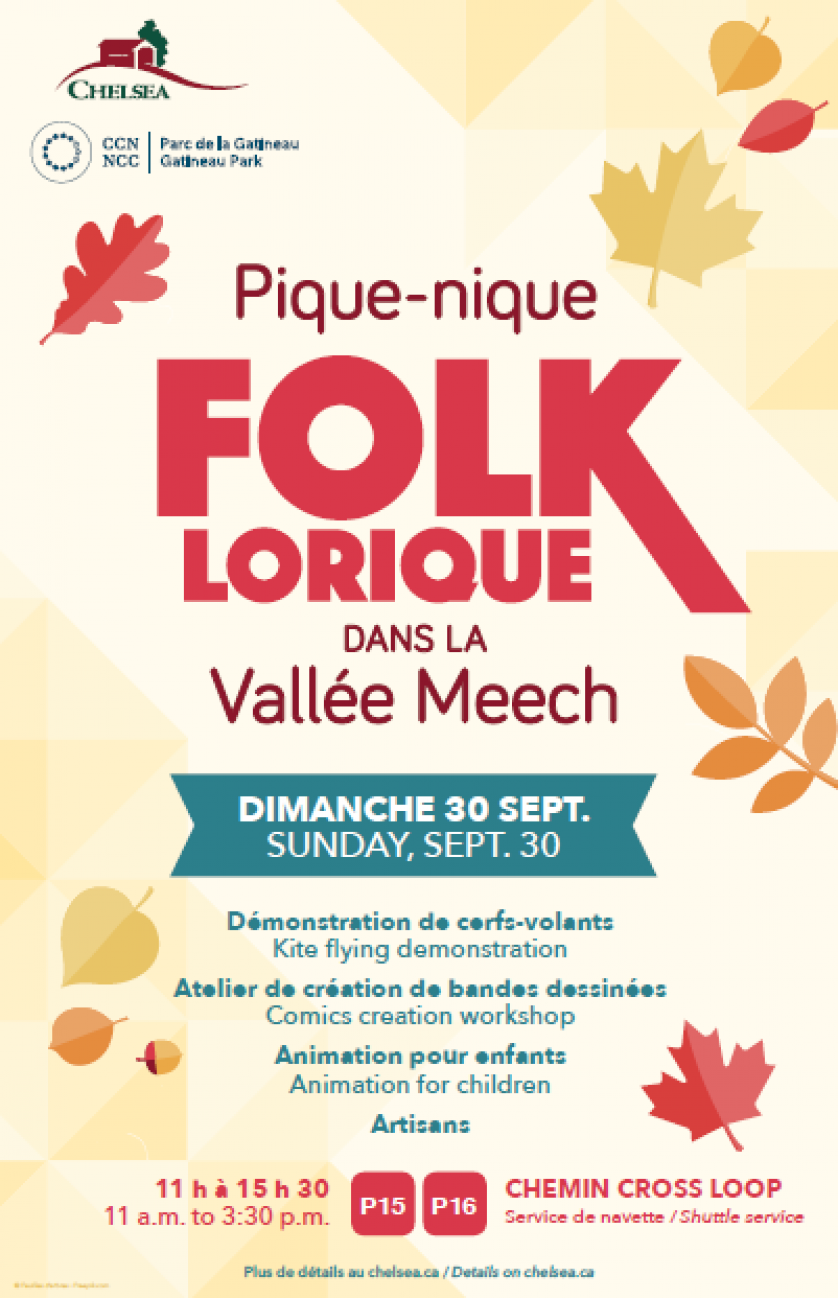 Folk Picnic and Kites in Meech Creek Valley