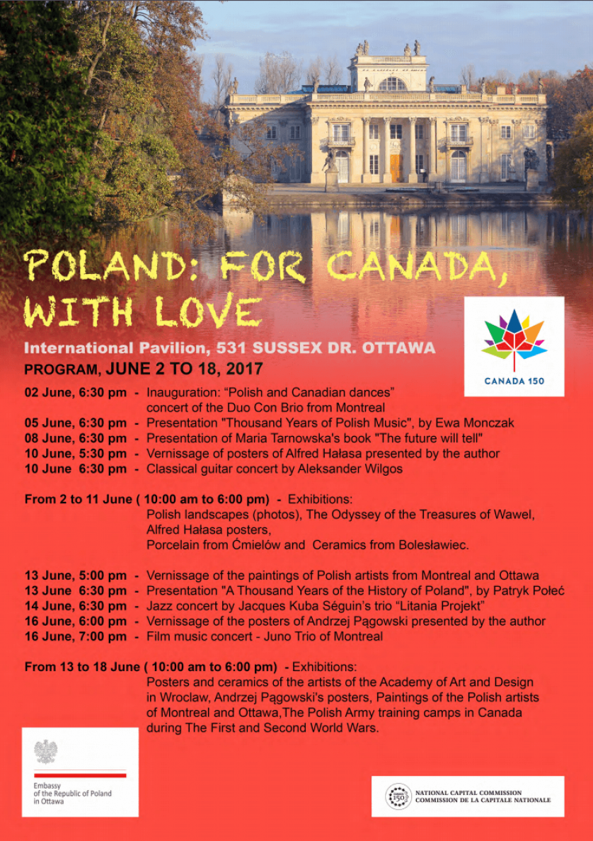 Poland: For Canada, With Love - Program