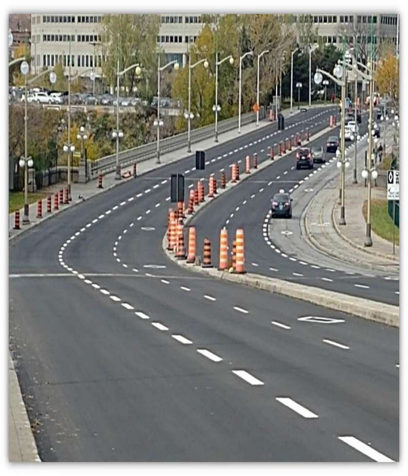 Portage Bridge - First stage of renewal completed - October 27, 2018