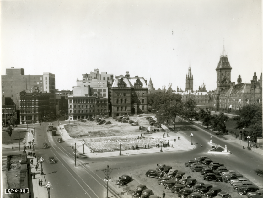 Construction of the National War Memorial