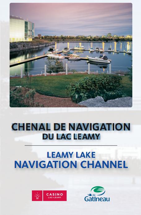 Chenal de navigation du lac Leamy