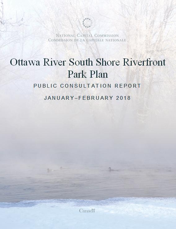 Ottawa River South Shore Riverfront Park Plan - Consultation