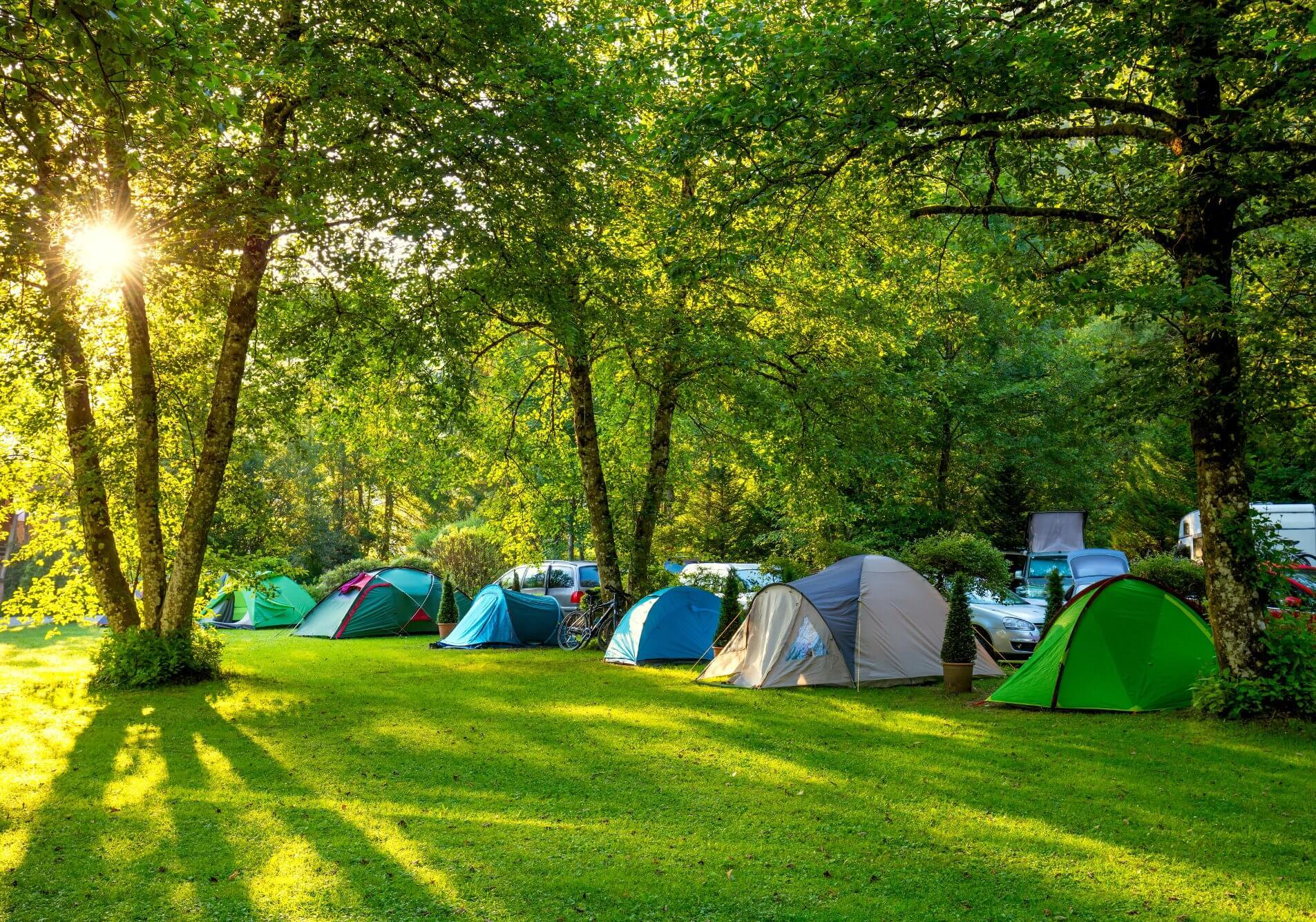 Camping in gatineau park national capital commission for Campeggio green garden