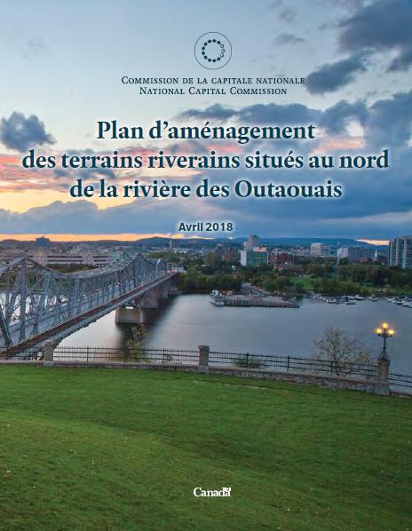 Plan d'aménagement des terrains riverains situés au nord de la rivière des Outaouais