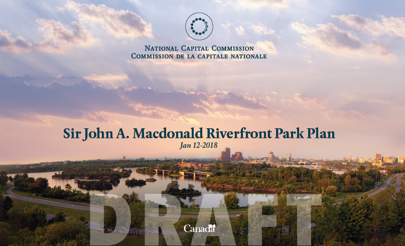 Ottawa River South Shore Riverfront Park Plan (Draft)