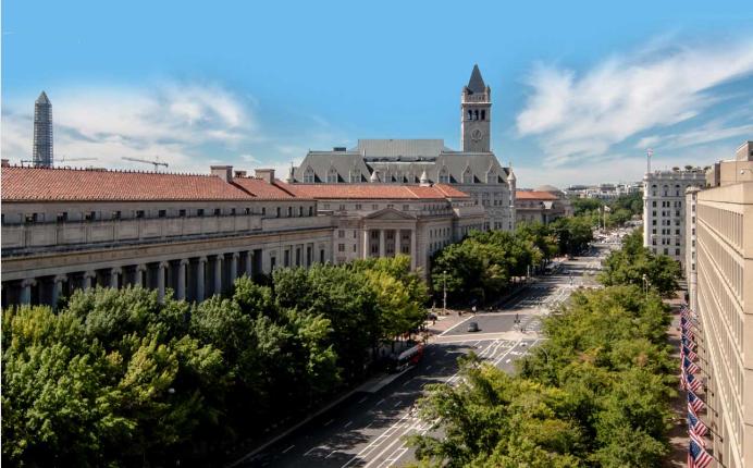 Bâtir une capitale : perspective de Washington