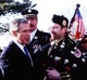 Bobby Hughes and President George W. Bush 9/11 Memorial