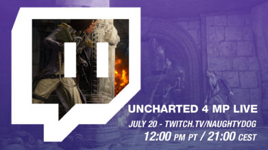 Naughty Dog Plays Uncharted 4 Multiplayer LIVE – Wednesday, July 20