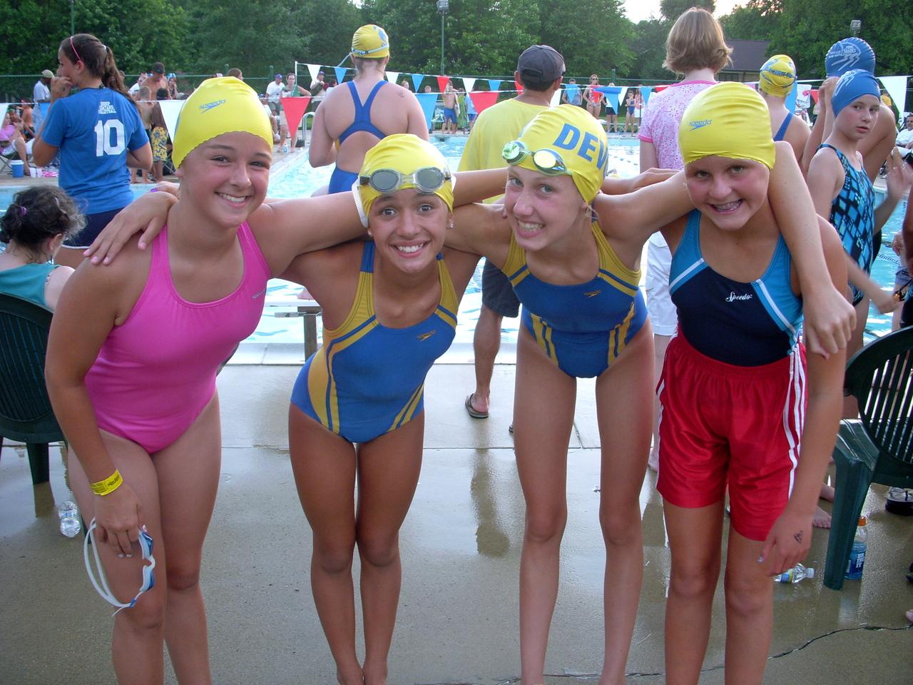 ponderosa swim meet 2010