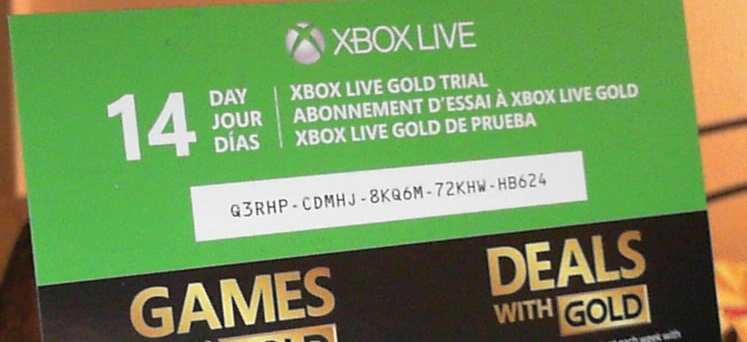 Xbox live coupon code