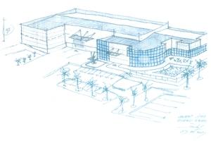 Idejna zasnova poslovnega objekta