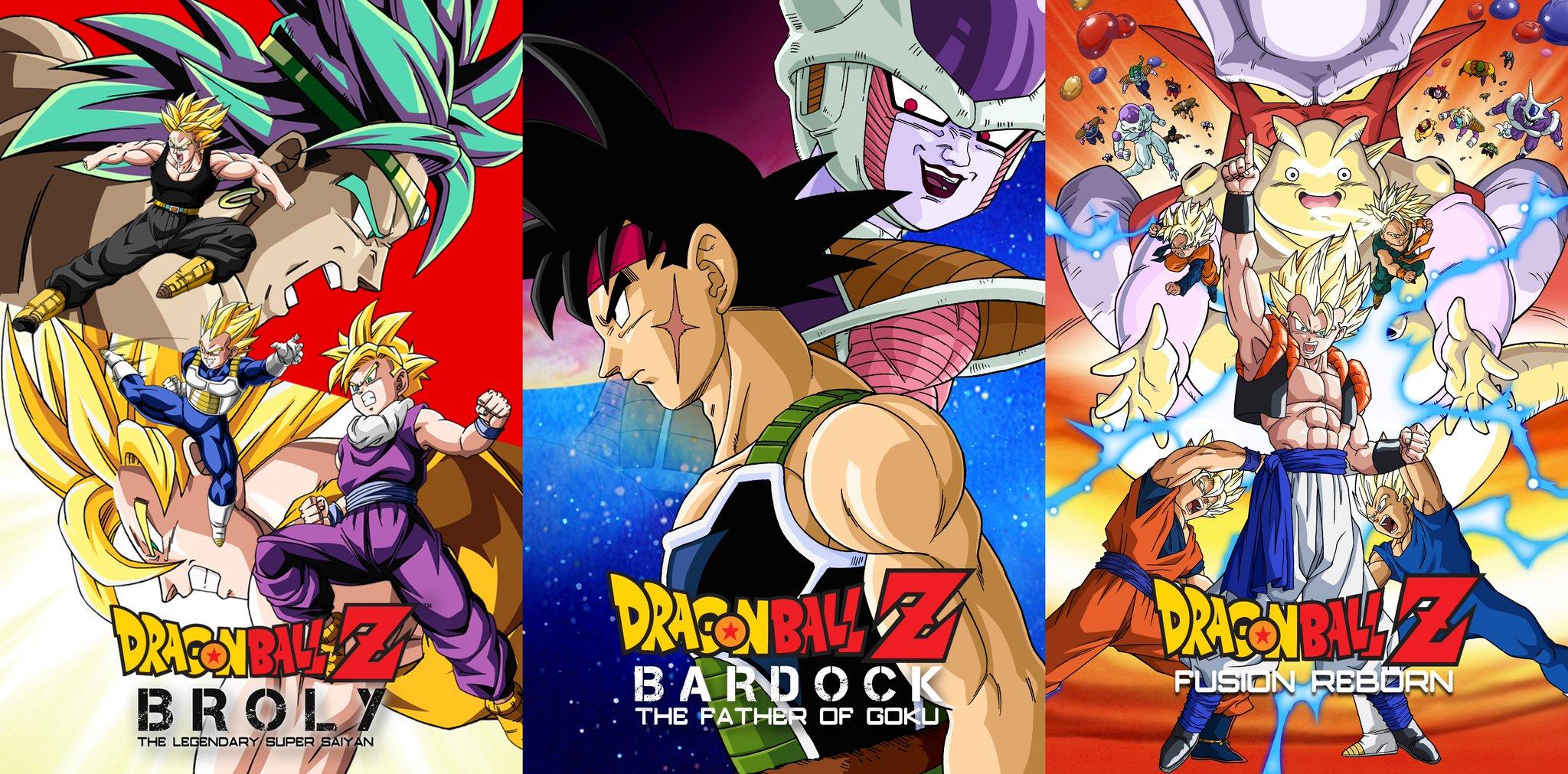 Dragon Ball Z filmes remasterizados