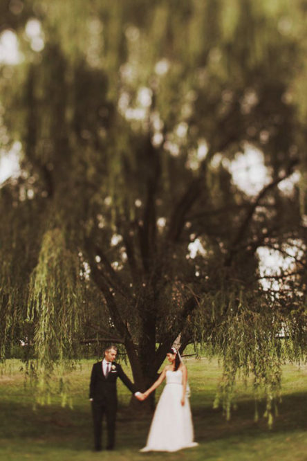 Lief & Yorie – An Intimate Back Yard Wedding at Home