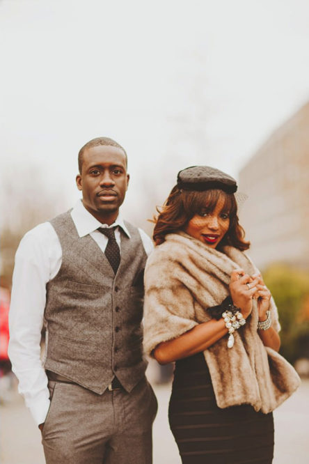 Nigerian Inspired Engagement Session