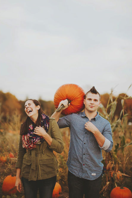 Spencer & Liz's Maryland Apple Orchard Engagement Session