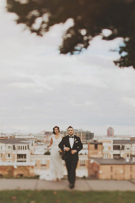 Amanda + Vinnie's American Visionary Art Museum Wedding Photos