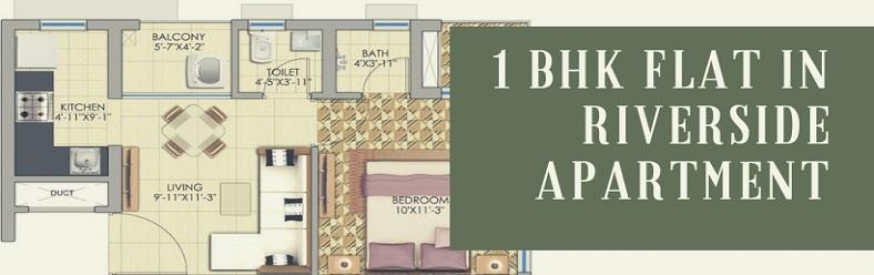 1 BHK flats in Serampore