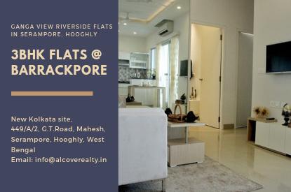 3 bhk flat at Barrackpore