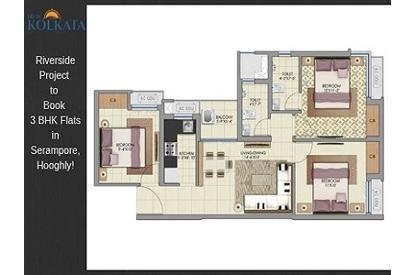 3 bhk flats in kolkata within 30 lakhs