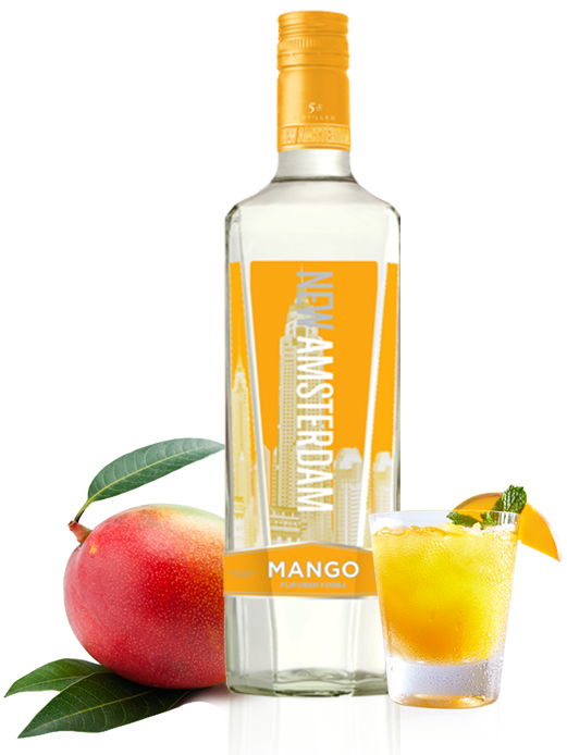 Peach vodka peach flavored vodka new amsterdam for How to make flavored martinis