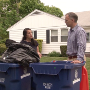 Recycling With Mayor Mitchell