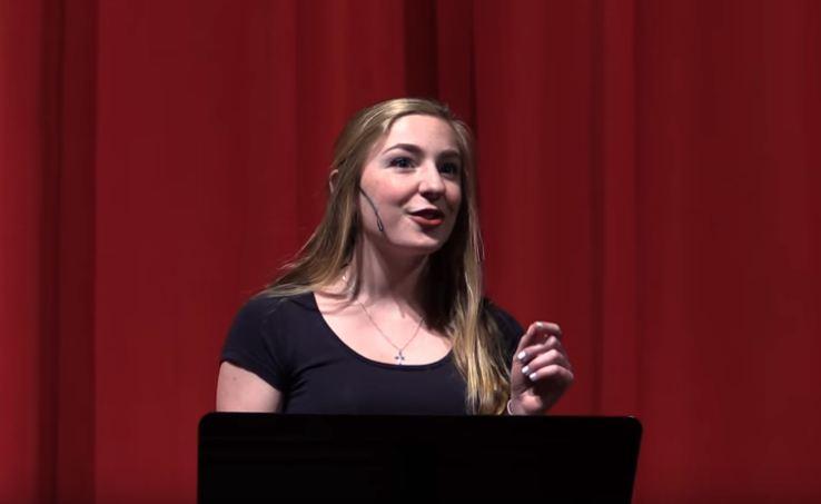 Overcome self doubt- Ashley Olafsen Tedx Speech