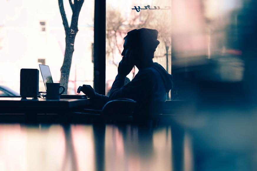 quit your job - coffee shop